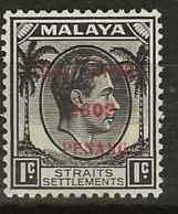Malaysia - Japanese Occupation, 1942, J77, Mint Hinged - Grande-Bretagne (ex-colonies & Protectorats)