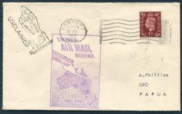 "1938 Newport - Papua ""Empire Air Mail Scheme Stage 3"" Flight Cover Via Townsville Queensland Australia. Imperial Airways - 1902-1951 (Rois)"