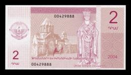 Nagorno Karabakh Armenia 2 Dram 2004 SC UNC - Nagorny Karabach