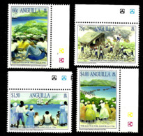 ANGUILLA 1996 BATTLE FOR ANGUILLA SET MNH - Anguilla (1968-...)