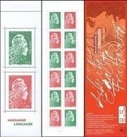 France Carnet Composition N° BC 1525 A Marianne L'Engagé Comprend Les N° 5252 - 5253 - 5286 Et 5287 ** - Autres