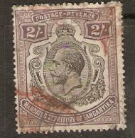 Tangayika  1927  SG  103  2/-d  Used - Kenya, Uganda & Tanganyika