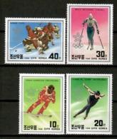 Korea 1988 Corea / Winter Olympic Games Calgary  MNH Juegos Olímpicos Invierno Olympische Spiele / Cu12835  36-54 - Winter 1988: Calgary
