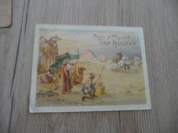 Chromo  Pub Publicitaire Grand Format Cacao Van Houten Grand Format Orientalisme Guerre - Van Houten