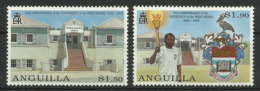 ANGUILLA 1998  50th ANNIV. OF UNIVERSITY OF WEST INDIES SET MNH - Anguilla (1968-...)