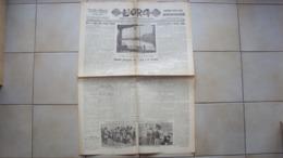 SICILIA PALERMO GIORNALE QUOTIDIANO L'ORA CORRIERE POLITICO DELLA SICILIA ANNO 1929 - Unclassified