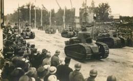 Les Chars D'assaut Lors Des Fêtes De La Victoire En 1919 à Paris - RCC Régiment De Chars - Heimat