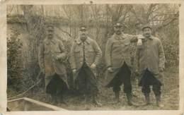 Carte Photo De Soldats Du 291e RI En 1915 - Personnages