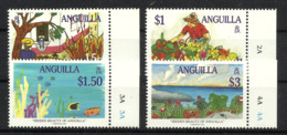 ANGUILLA 1998  CHRISTMAS,HIDDEN BEAUTY OF ANGUILLA, PAINTINGS SET MNH - Anguilla (1968-...)