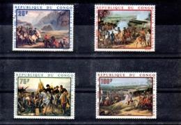 Congo Nº Aereo 80-83 Napoleón, Serie Completa En Nuevo 11 € - Napoleon