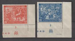 SBZ-Druckvermerke/Druckerzeichen: Leipz. Messe 1949 DV - Sowjetische Zone (SBZ)