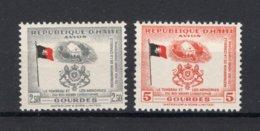 HAITI Yt. PA90/91 MNH** Luchtpost 1954 - Haití