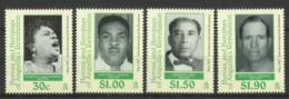 ANGUILLA 1999 HEROES & HEROINES OF REVOLUTION SET MNH - Anguilla (1968-...)