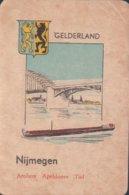1 Oude Speelkaart Uit Steden Kwartet : Gelderland : Nijmegen - Cartes à Jouer