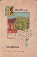 1 Oude Speelkaart Uit Steden Kwartet : Gelderland : Apeldoorn - Speelkaarten