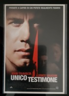Unico Testimone Movie Film Carte Postale - Affiches Sur Carte
