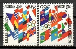 Norway 1994 Noruega / Winter Olympic Games Lillehammer MNH Juegos Olimpicos De Invierno / Jx30  32-1 - Winter 1994: Lillehammer