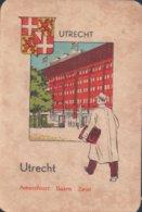 1 Oude Speelkaart Uit Steden Kwartet : Utrecht : Uttrecht - Andere