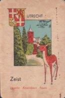 1 Oude Speelkaart Uit Steden Kwartet : Utrecht : Zeist - Andere
