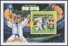 CHAD 2016 MNH** Olympic Games Rio De Janeiro Judo S/S - OFFICIAL ISSUE - DH1819 - Sommer 2016: Rio De Janeiro