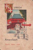 1 Oude Speelkaart Uit Steden Kwartet : Utrecht : Amersfoort - Speelkaarten