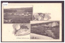 DISTRICT DE LA VALLEE - L'ORIENT - TB - VD Vaud