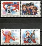 Norway 1994 Noruega / Winter Olympic Winners MNH Ganadores Juegos Olímpicos Invierno / Ka08  1-34 - Juegos Olímpicos