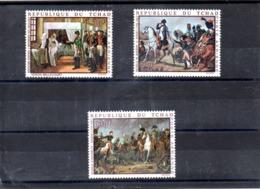 Tchad Nº Aereo 61-63 Napoleón, Serie Completa En Nuevo 9 € - Napoleon