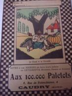 Protége Cahier Aux 100.000 Paletots CAUDRY Le Gland Et La Citrouille - Textile & Clothing