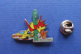 Pin's,auto,AMERICAN LIVE 96,Zuchwil Suisse,corvette,limité - Corvette