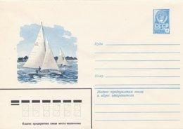 RUSSIA CCCP - Busta Intero Postale - Vela Sail Voile - Vela