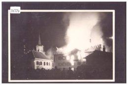 DISTRICT DE LA VALLEE - LE BRASSUS - INCENDIE DE L'HOTEL DE LA LANDE LE 23 SEPTEMBRE 1934 - TB - VD Vaud