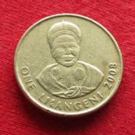 Swaziland 1 Lilangeni 2008 KM# 45 *V1 Suazilandia Swazilandia - Swaziland