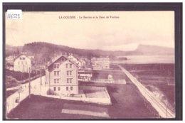 DISTRICT DE LA VALLEE - LA GOLISSE - B ( PLI D'ANGLE ) - VD Vaud