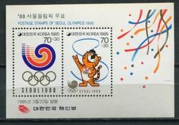 Korea 1985 Corea / Olympic Games Seoul 1988 MNH Juegos Olímpicos Olympische Spiele / Cu6327  5-17 - Verano 1988: Seúl