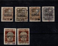 Fiume 1920 Revenue BOLLO Ovpt - Altri - Europa