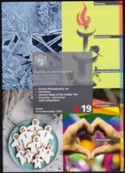 Liechtenstein / 4 / 2019 / Ice, Rat, Christmas, Zodiac / Philatelic Postage Stamps Prospectus, Leaflet, Brochure - Altri