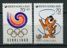 Korea 1985 Corea / Olympic Games Seoul 1988 MNH Juegos Olímpicos Olympische Spiele / Cu6328  5-18 - Verano 1988: Seúl