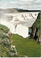 Gullfoss The Golden Waterfall , Iceland - IJsland