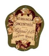 Petite Etiquette Parfum RIGAUD & Cie, Paris - Essence Concentrée - Labels