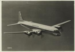 SABENA  DC-6 B In Flight Over The North Atlantic (2848) - Flugwesen