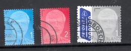 Nederland 2017 Nr 3598 - 3600, Mi Nr ?? Koning Willem-Alexander Gestempeld - Periodo 2013-... (Willem-Alexander)