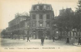 SAPEURS POMPIERS DE LA VILLE DE PARIS - Caserne Chaligny, Firemin Barracks. - Pompieri