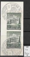 DR 1940  MiNr.  754 Senkrechtes Paar Auf Papier   O / Used  (L1284) - Germany