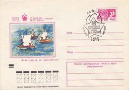 RUSSIA CCCP - Intero Postale - 1922  FUGA - Storia
