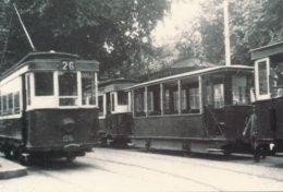 Toulouse (31) En 1950 - Tramway De Toulouse - Tramways Devant La Gare Matabiau - Toulouse