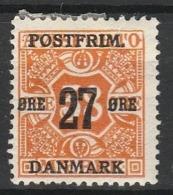 DANEMARK JOURNAUX 1915 YT N° 102 * - 1913-47 (Christian X)