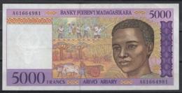 Madagascar : 5.000 F 1995 TTB. KM N° 78. TTB - Madagascar
