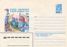 RUSSIA CCCP - Intero Postale - 1981  -  VELA SAIL VOILE - Vela