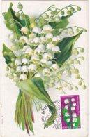 """CM: FRANCE: FLORE:"""" Dites-le Avec Des Fleurs"""" LE MUGUET , Symbolisme LE BONHEUR  : 1 Er Jour 10.02.2012  N° 664 - 2010-..."""
